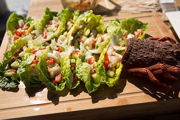 Flora and Jasmine's Lobster Salad