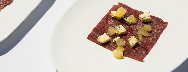 Beef Carpaccio with Rocket and Parmesan