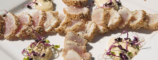 Wasabi and Sesame seared Tuna