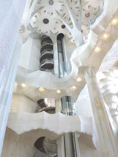 Spiral staircase decor