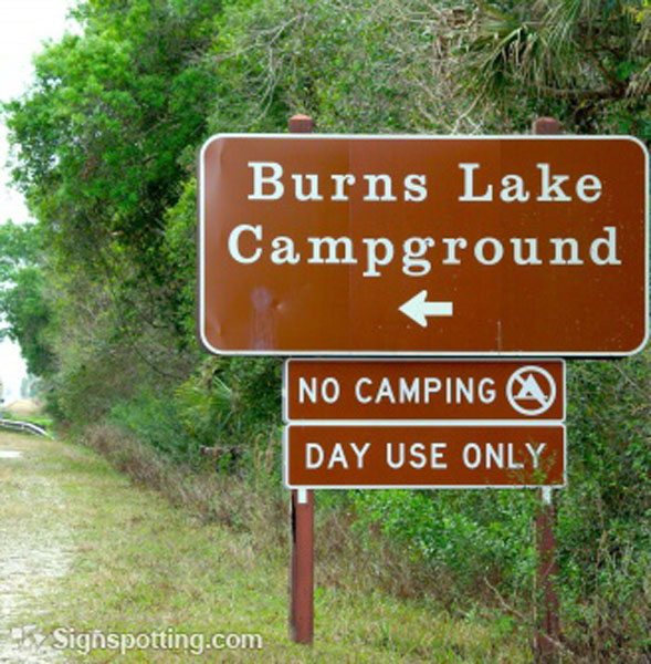 Careful of the lake you may get burnt! is that why no camping is allowed?