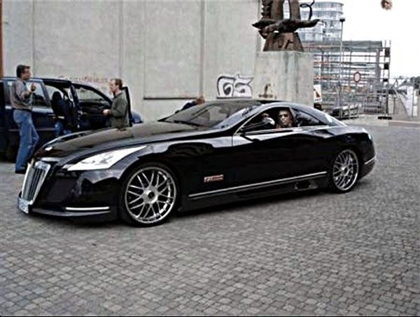 Jay Z- Maybach Accelarant worth $8million (celebjug.com)