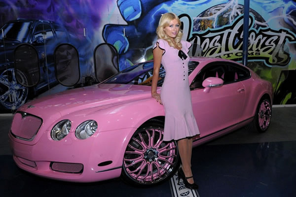 Paris Hilton- Bentley GT Continental $US285,000 (q8blend.com)