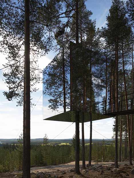 Tree Hotel Daytime