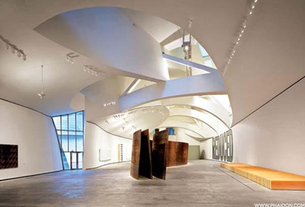 Inside of the Guggenheim Museum
