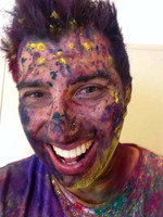 The aftermath of Holi!