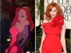 Christina Hendricks is Jessica Rabbit