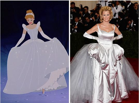 Sandra Lee is Cinderella