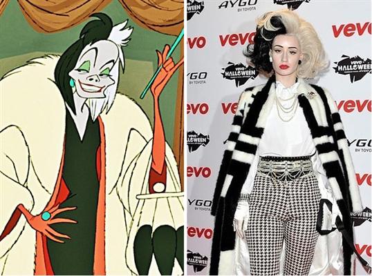 Iggy Azalea is Cruella Deville