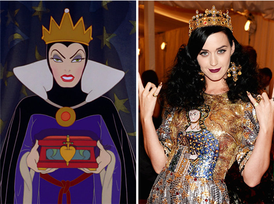 Katy Perry is the Evil Queen from Snow White