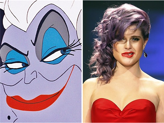 Kelly Osbourne is Ursula from The Little Mermaid