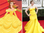 Lena Dunham is Belle