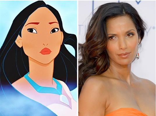 Padma Lakshmi is Pocahontas