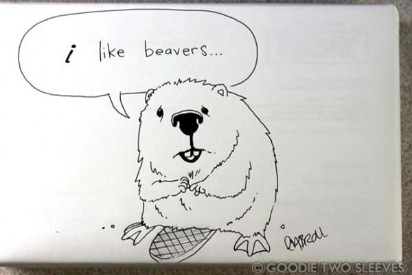 Please draw some kind of Canadian wildlife, but not a beaver, no one actually likes beavers.