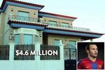 #9 Andre Iniesta - $4.6 Million