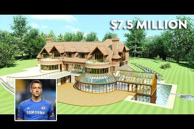 #5 John Terry - $7.5 Million