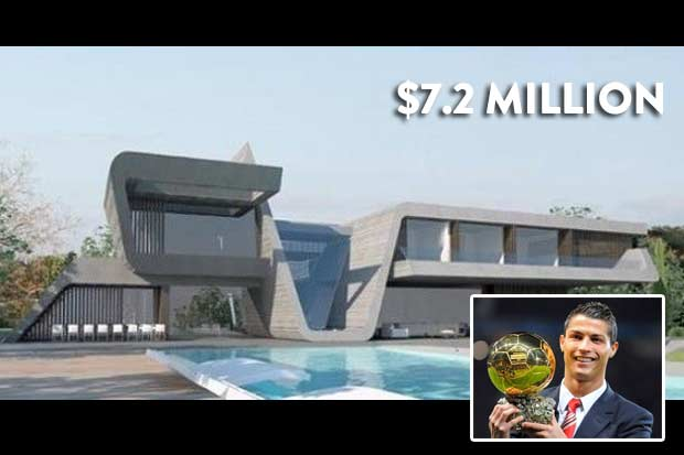 #6 Cristiano Ronaldo - $7.2 Million