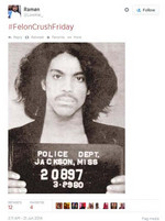 Prince did have a rather fabulous mugshot in 1980