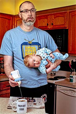 The first World's Best Father portrait that started it all!