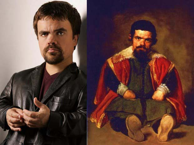 "Peter Dinklage and Diego Velazquez's ""Portrait of Sebastián de Morra"""