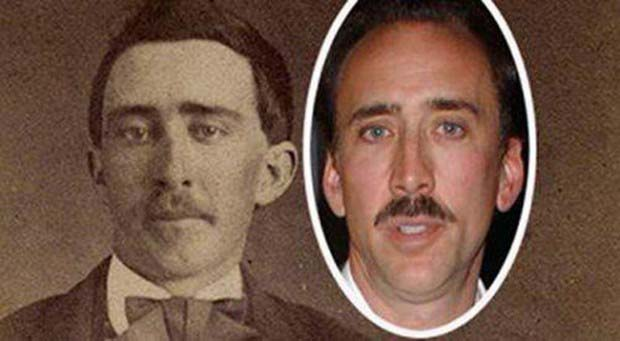 Nicolas Cage and a Tennessee man from the Civil War Era