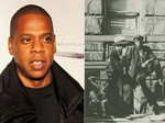 Jay-Z and a man from Harlem in 1939