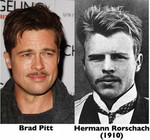 Brad Pitt and Herman Rorschach