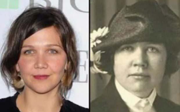 Maggie Gyllenhaal and Rose Wilder Lane