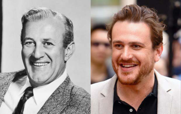 Jason Segal and famous 20th century actor, Lee J. Cobb