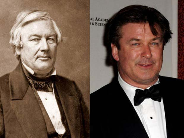 Alec Baldwin and President Millard Fillmore