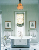 Greens, like blues, lend well to the ombre effect with the wide spectrum of tones to choose from