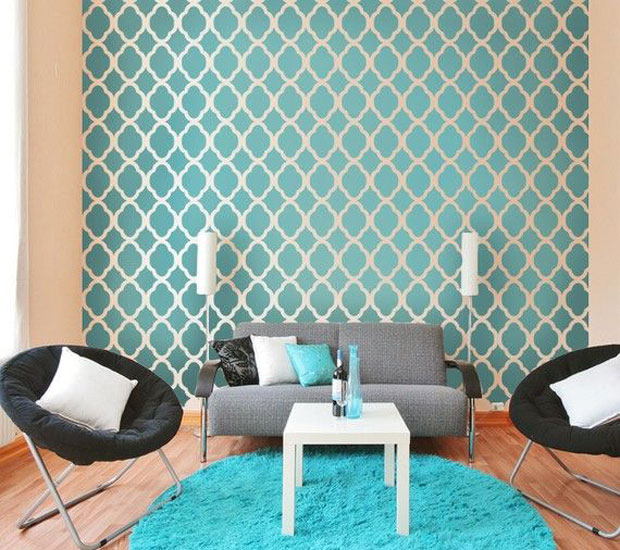 A great idea is to pick a few key colours and carry that through with your furniture and decor