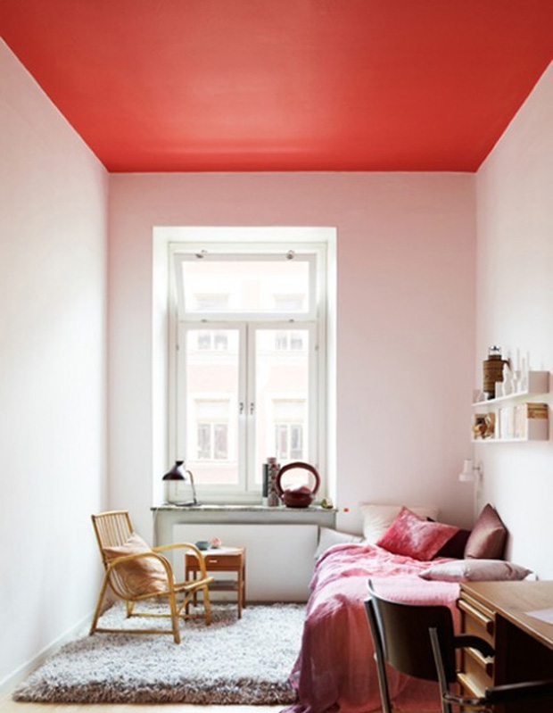 Tip 7: Don't forget about the fifth wall, the ceiling!