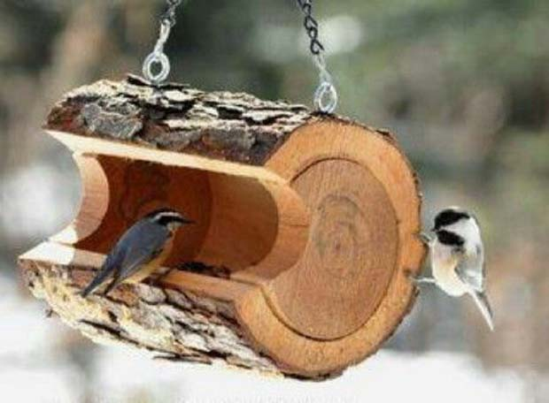 Classic bird feeder -from nature, for nature!