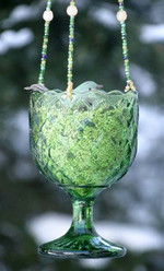 String up your prettiest glass goblet, and watch the birdies come in droves!