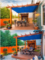 Showers won't spoil your little outdoor party if you're well prepared!