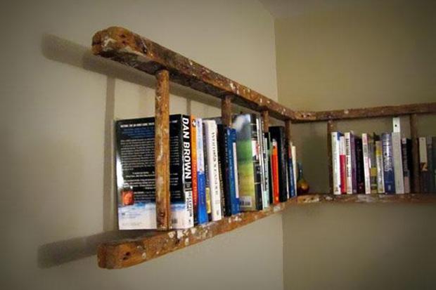 Used ladder bookshelf!