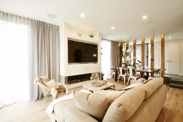 Jo and Damo's Living Room