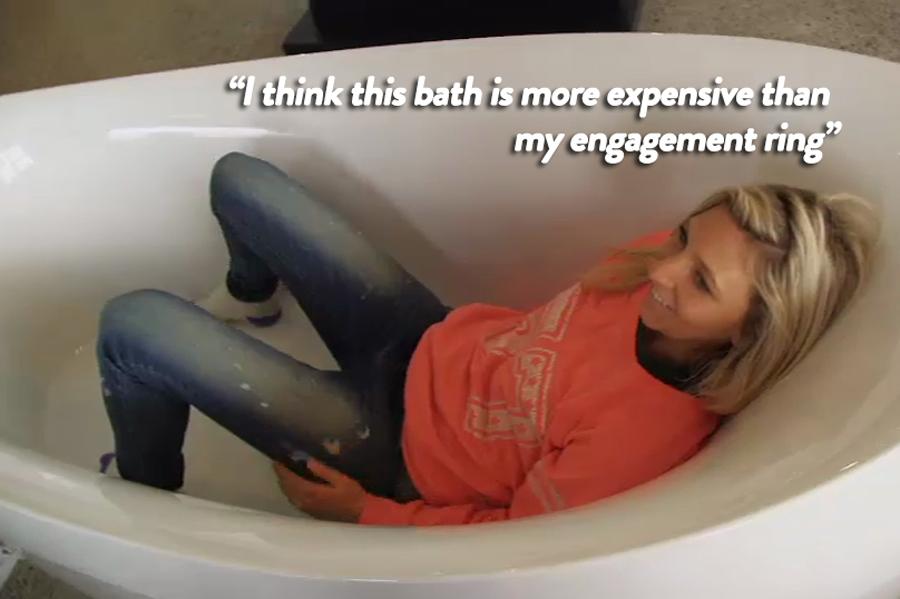 The perfect bath!