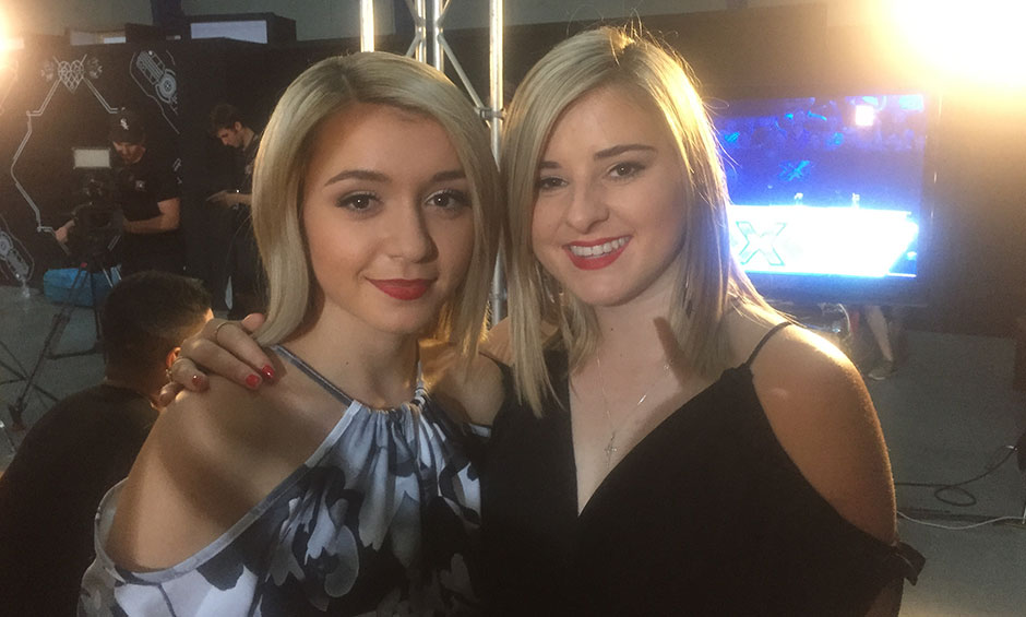 You voted for them! Mae Valley backstage before their big announce