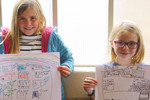 Kids draw their Grand Design