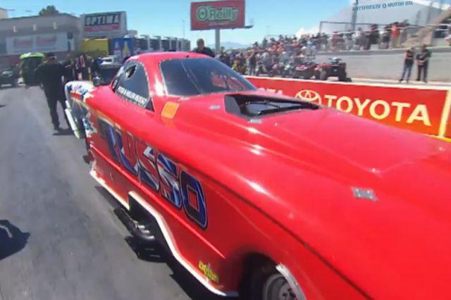NHRA Mello Yellow Drag Racing Series - Round 4: Las Vegas