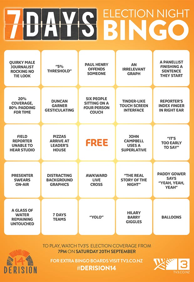 Click Here For The Best Bingo Card. Ever. - Articles - Laughs - 7 ...
