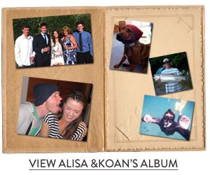 Alisa and Koan's photo album