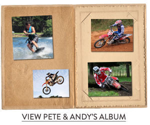 Pete and Andy's photo album