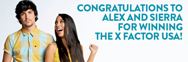 Alex and Sierra have won The X Factor USA!