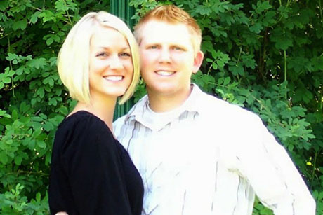 Jason Mortensen and Wife